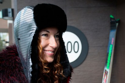 Betabrand DIsco Trapper Hat